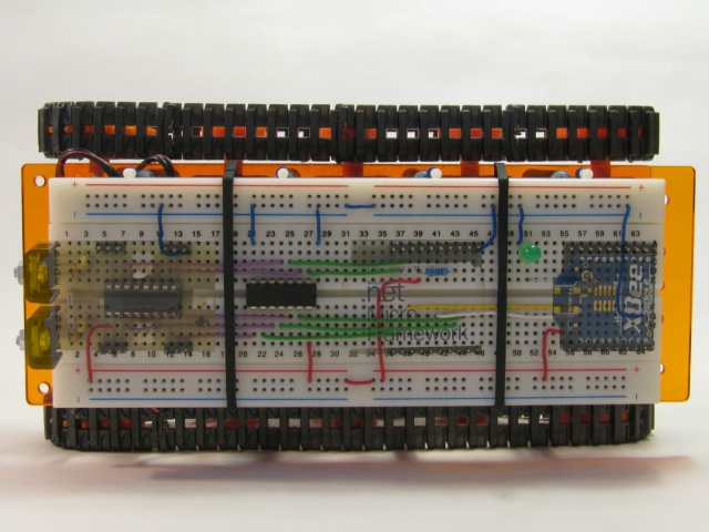 Micro Framework Vehicle - Ghosts on the breadboard 640x480