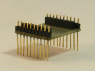 XBee adaptor board 320x240