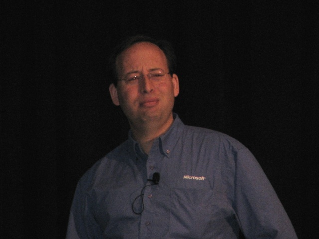 Micro Framework at TechEd 2008 640x480