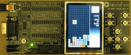 Tetris based on .NET Micro Framework 500x211